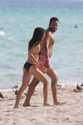Zoe Kravitz in Bikini at a Beach in Miami, November 2015
