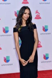 Zoe Saldana – 2015 Latin GRAMMY Awards in Las Vegas