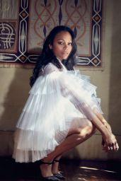 Zoe Saldana - Photoshoot for Latina Magazine December 2015