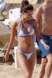 Anna Andres Bikini Candids - Beach in Maui 12/29/2015