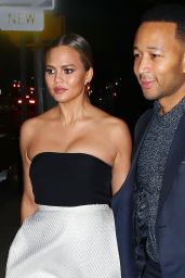 Chrissy Teigen - Out for Her 30th Birthday/Thanksgiving Weekend in New York