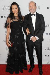 Emma Heming (Willis) – 'An Evening Honoring Valentino' Gala in New York City, 12-7-2015