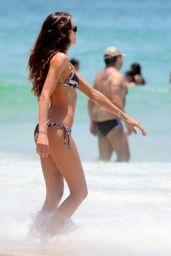 Izabel Goulart  Bikini Pics - Beach in Rio De Janeiro 12/21/2015