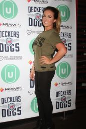 Jessie James Decker - Bowling for Barks Event at Frames Bowling Lounge in New York City, 12-7-2015