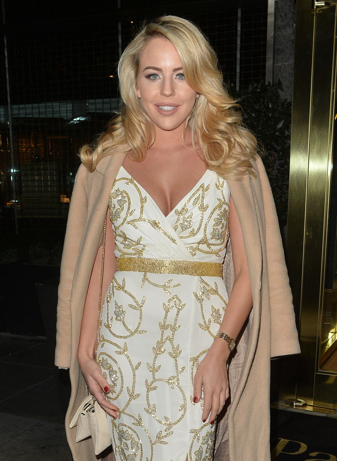 Lydia Bright Night Out Style At The Park Lane Casino In