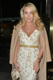 Lydia Bright Night Out Style - at the Park Lane Casino in Mayfair, London 12/9/2015