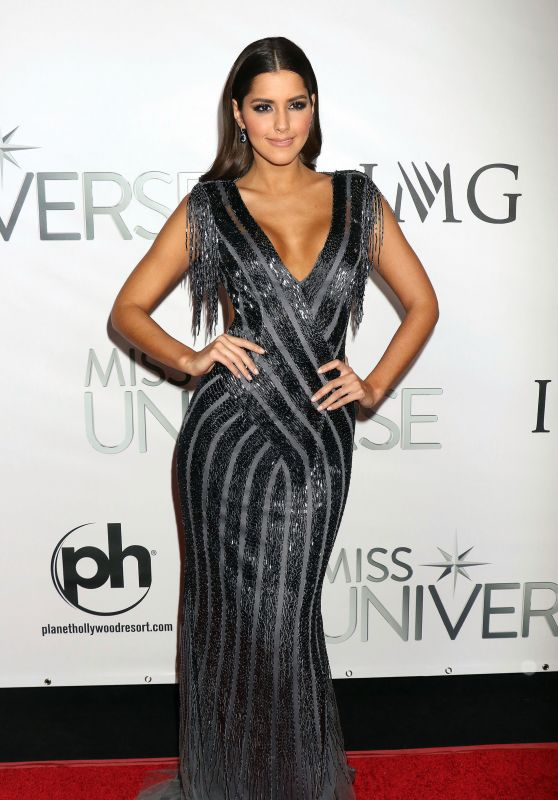 Paulina Vega – 2015 Miss Universe Pageant in Las Vegas