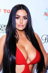 Abigail Ratchford - Babes in Toyland Charity Holiday Party in Hollywood, December 2015