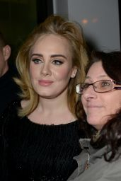 Adele at Airport Cologne/Bonn After Her Performance for the RTL Television Broadcast of 2015