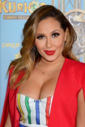 Adrienne Bailon – Cirque du Soleil's 'Kurios – Cabinet of Curiosities' Opening Night in Los Angeles 12/9/2015