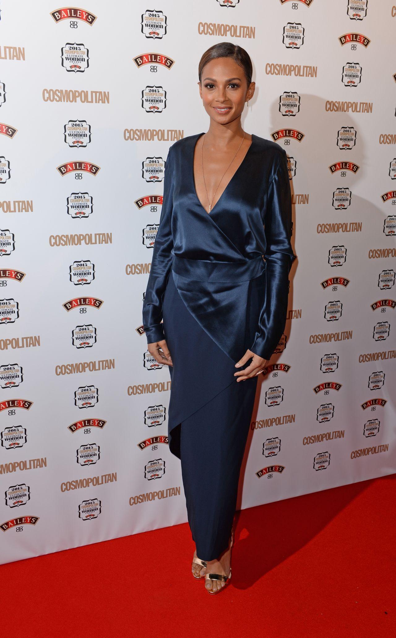 Alesha dixon pictures cosmopolitan ultimate women of the year awards - Alesha Dixon 2015 Cosmopolitan Ultimate Women Of The Year Awards In London