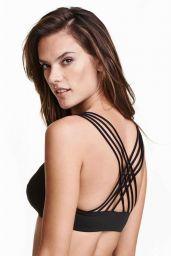 Alessandra Ambrosio in Bikini - H&M Swimwear