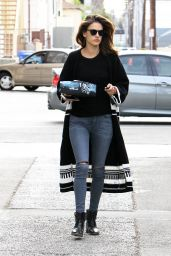 Alessandra Ambrosio - Out in Brentwood, December 2015