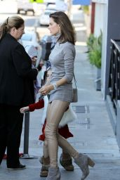 Alessandra Ambrosio - Out in Los Angeles, December 2015