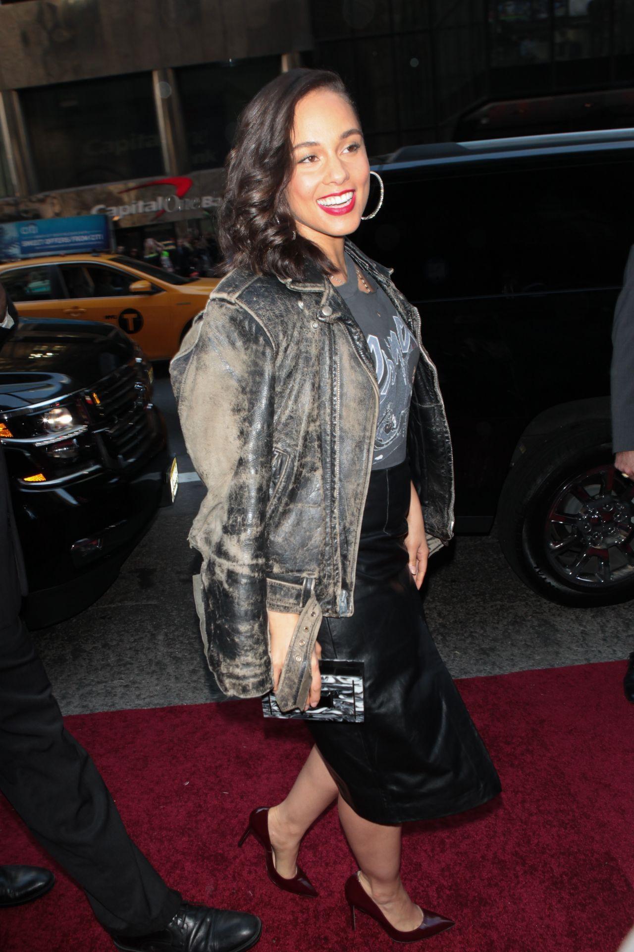 Alicia Keys 2015 Billboard Women In Music Event In New