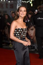 Alicia Vikander Red Carpet Pics -