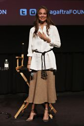 Alicia Vikander - SAG-AFTRA Screening & Q&A of