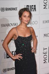 Alicia Vikander - The Moet British Independent Film Awards 2015 in London