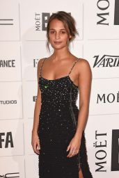 Alicia Vikander - The Moet British Independent Film Awards 2015 in London