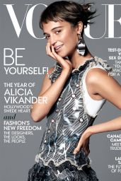 Alicia Vikander - Vogue  Magazine US January 2016 Cover and Pics