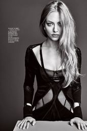 Amanda Seyfried - Madame Figaro Magazine December 2015 Issue and Photos