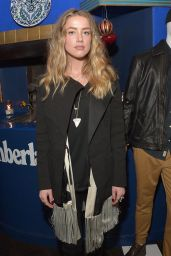 Amber Heard - Timberland Celebrates Winter On the Modern Trail With Samantha McMillen in Los Angeles