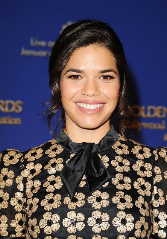 America Ferrera – 2015 Golden Globe Nominations in Los Angeles