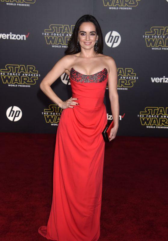 Ana de la Reguera – Star Wars: The Force Awakens Premiere in Hollywood