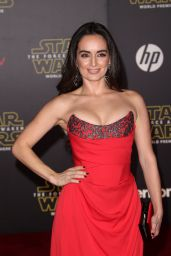 Ana de la Reguera – Star Wars: The Force Awakens Premiere in Hollywood