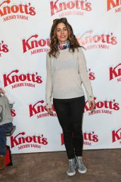 Ana Ortiz – Knott's Merry Farm Countdown to Christmas & Tree Lighting, December 2015
