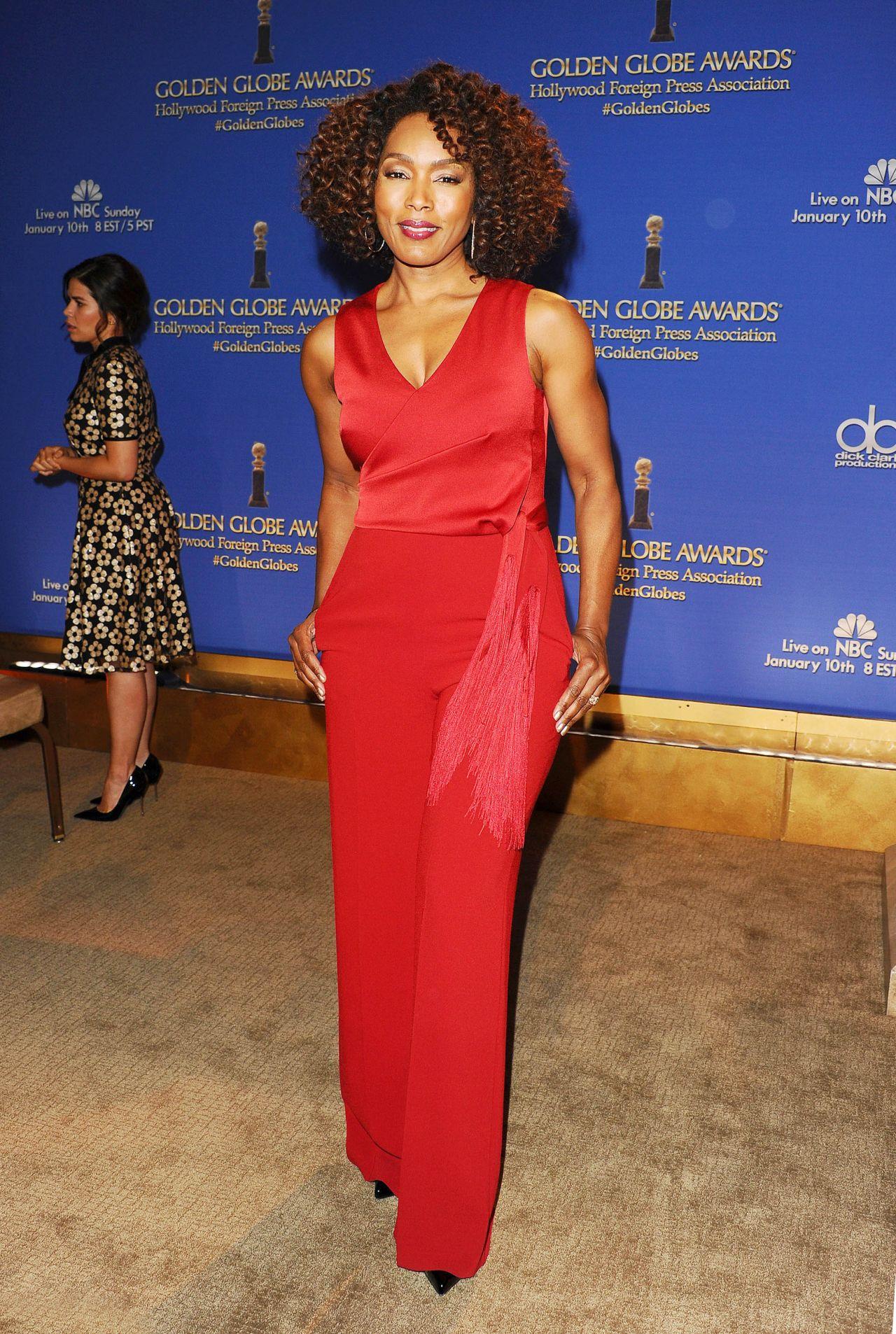 Angela Bassett - 2015 Golden Globe Nominations in Los Angeles
