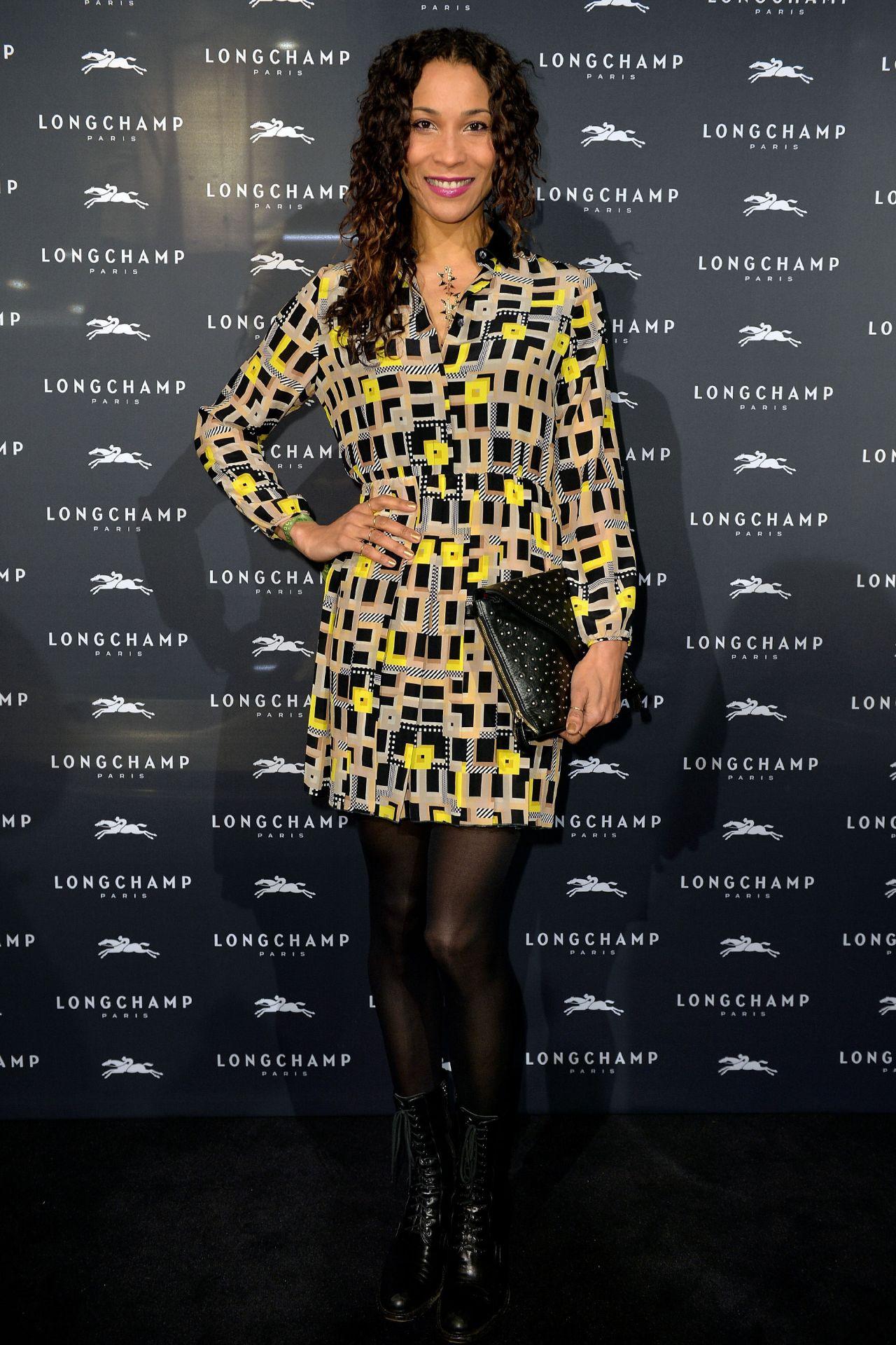 Annabelle Mandeng – Longchamp Store Opening in Cologne, December 2015