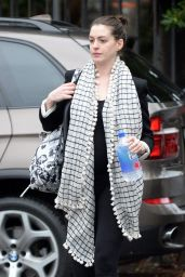 Anne Hathaway - Out in Los Angeles, December 2015