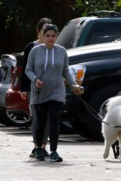 Ariel Winter - Walking Her Dog in Los Angeles, December 2015