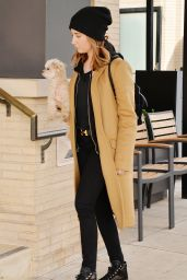 Ashley Tisdale Street Fashion - Out in Los Angeles 12/27/2015