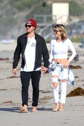 Audrina Patridge - Out With Her Fiancee Corey Bohan in Laguna Beach, 11/30/2015