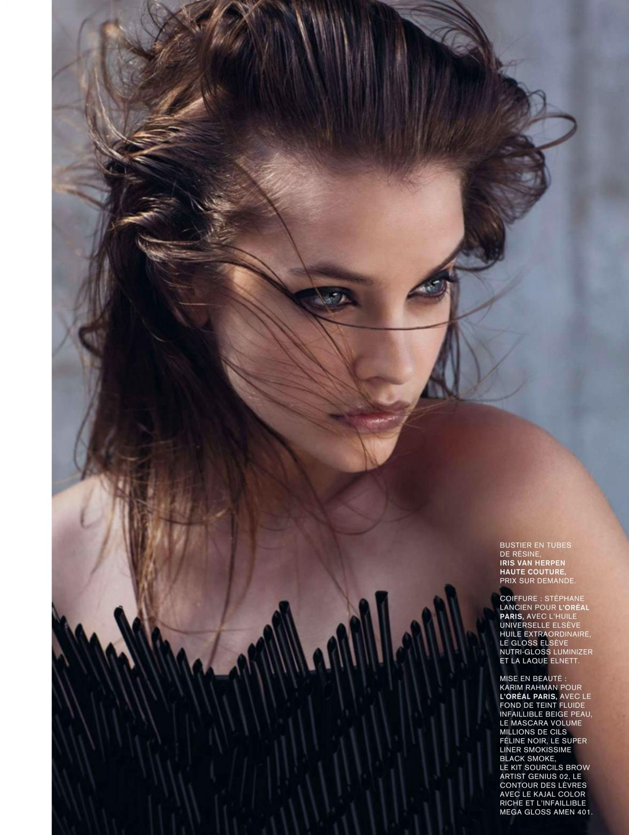 barbara palvin l 39 express styles magazine december 9. Black Bedroom Furniture Sets. Home Design Ideas