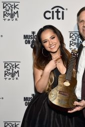 Becky G – Musicians On Call Rock The Room Tour in West Hollywood, December 2015