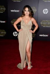 Becky G – Star Wars: The Force Awakens Premiere in Hollywood