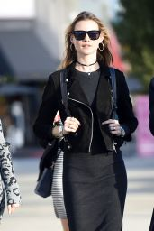 Behati Prinsloo Casual Style - Shopping in Los Angeles, December 2015