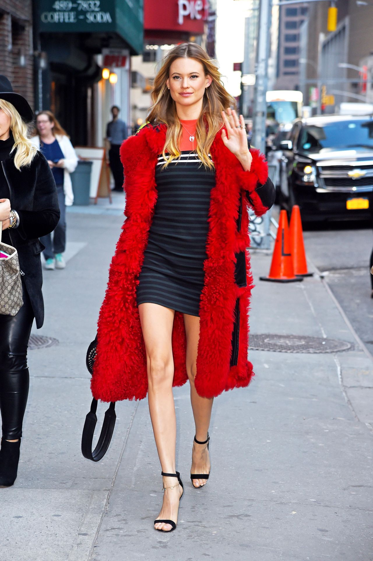 behati prinsloo 39 the late show with stephen colbert 39 in. Black Bedroom Furniture Sets. Home Design Ideas