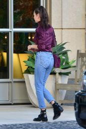 Bella Hadid Booty in Jeans - Beverly Hills 12/23/2015