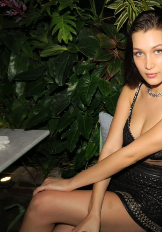 Bella Hadid Night Out Style - Chrome Hearts Celebrates Art Basel in Miami
