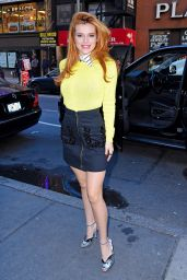 Bella Thorne - Arriving at the Today Show in New York City, 12/16/2015