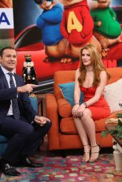 Bella Thorne - 'Despierta America' in Miami, Part II