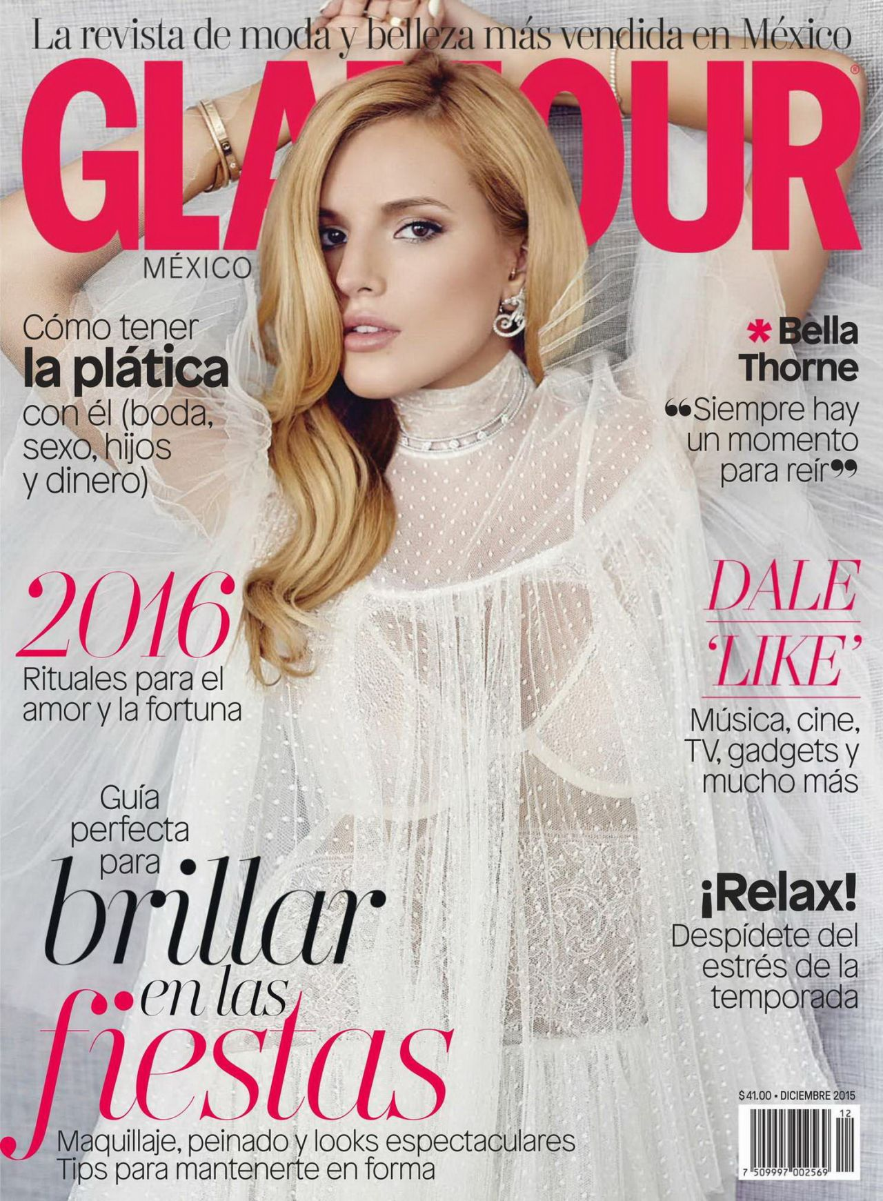Editorial Glamour Makeup Professional Makeup Artist: Glamour Magazine Mexico December 2015 Issue