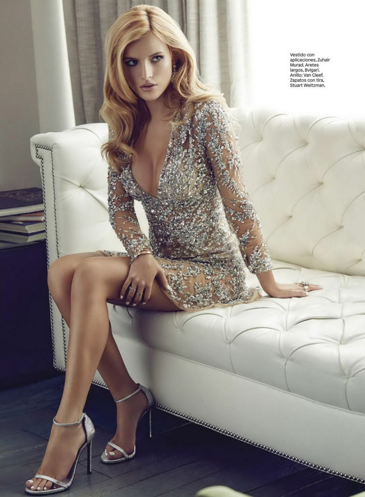 Bella Thorne  Glamour Magazine Mexico December 2015 Issue-4563