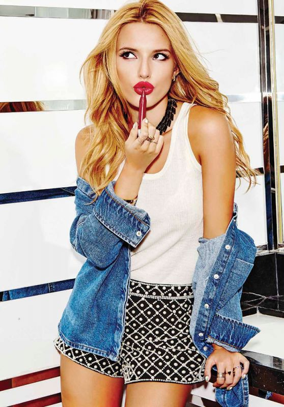 Bella Thorne - Seventeen Magazine Mexico January 2016 Issue and Pics