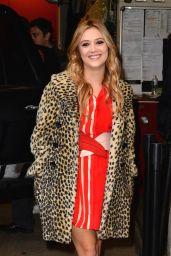 Billie Lourd - Visits Live With Kelly and Michale in New Yorkm - December 2015