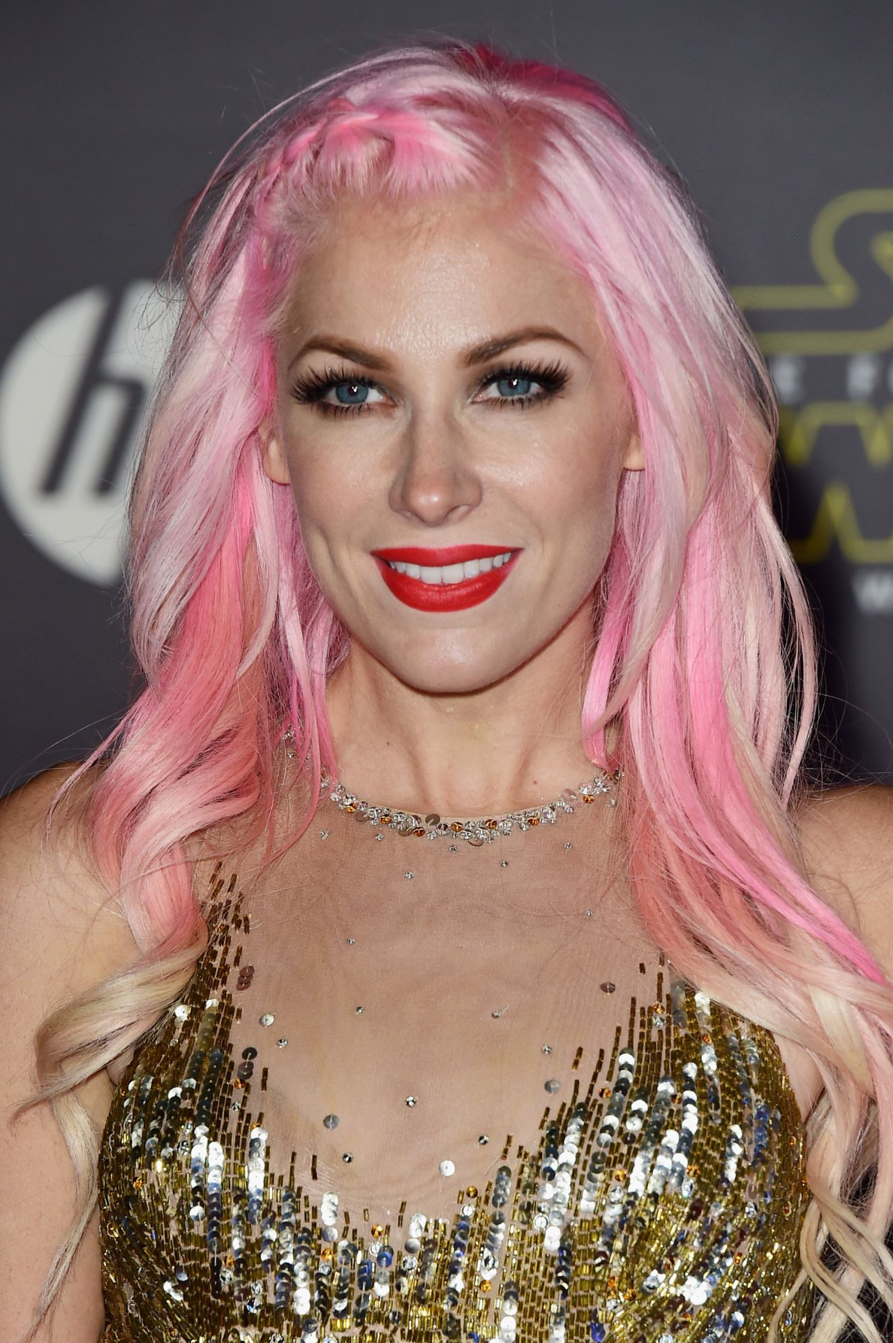 Bonnie Mckee Star Wars The Force Awakens Premiere In